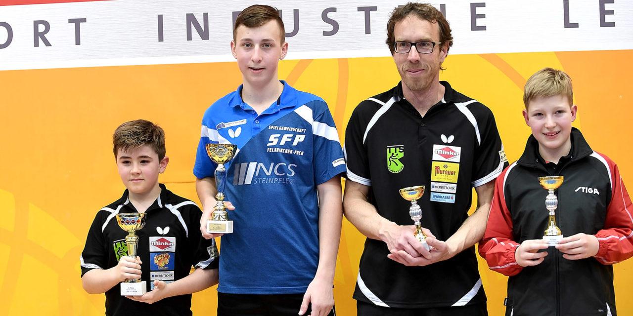 Steirische: 2x Gold und 2x Bronze für SFP!