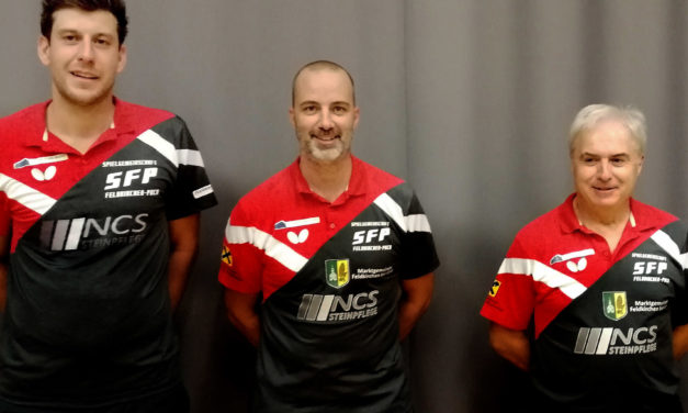 Pause nach vier Runden: Ein Feldkirchen-Team führt seine Liga an