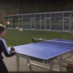 Training im Freien lockte sogar den ORF an